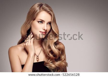 blonde model images