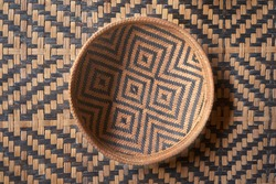 Amazonian Handwork Textiles Weave Balay Craftsmanship of Native Americans, Brazil
