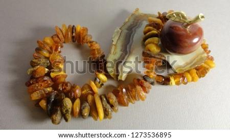 Amber gems gems gems background texture                             #1273536895