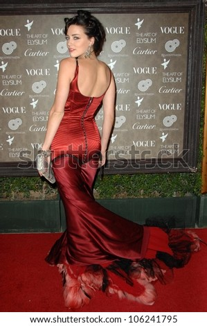 Amber Heard  at the 2nd Annual Art of Elysium Black Tie Charity Gala 'Heaven'. The Vibiana, Los Angeles, CA. 01-10-09