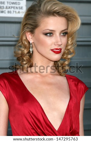 Amber Heard at the 10th Annual Young Hollywood Awards   Presented by Hollywood Life Magazine Avalon Los Angeles,  CA April 27, 2008