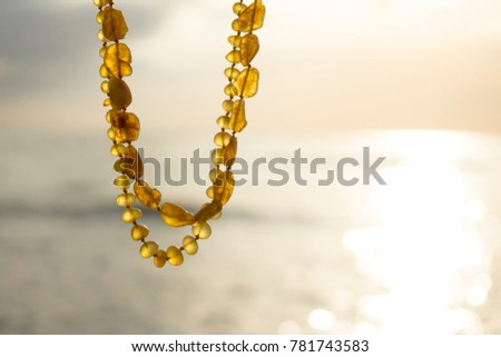 Amber necklace, Baltic amber necklace, Amber jewelry, honey amber #781743583