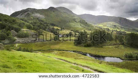 Ambleside, Zone R-U de Lac - stock photo