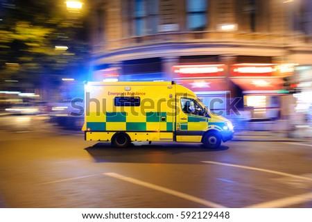 Ambulance panning