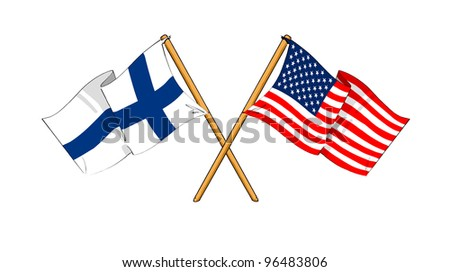 America and Finland alliance and friendship