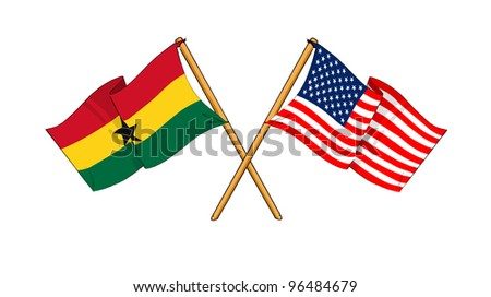 America and Ghana alliance and friendship
