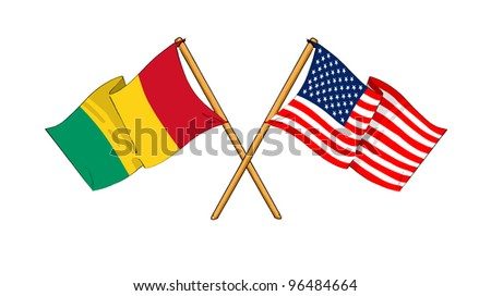 America and Guinea alliance and friendship