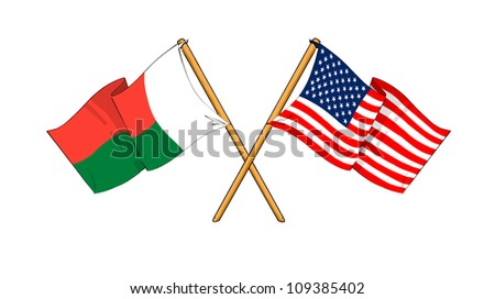 America and Madagascar alliance and friendship