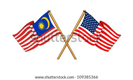 America and Malaysia alliance and friendship