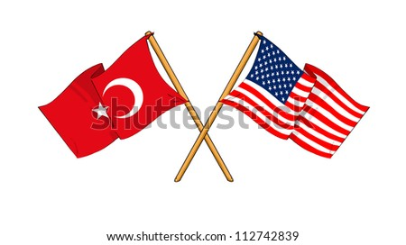 America and Turkey alliance and friendship