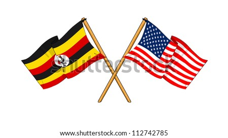 America and Uganda alliance and friendship
