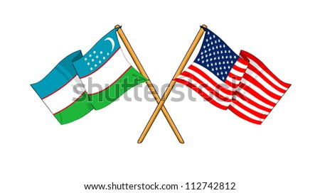 America and Uzbekistan alliance and friendship