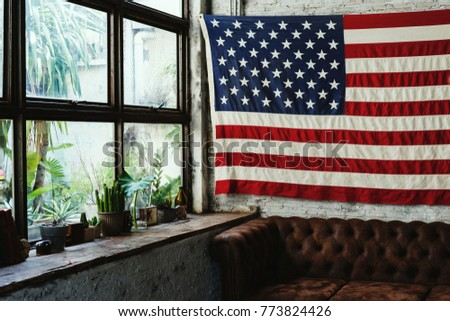 America flag home decoration