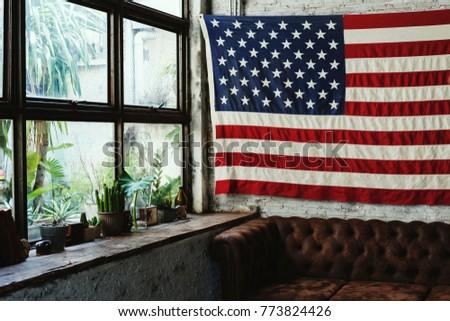 America flag home decoration