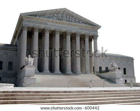 America's Supreme Court - stock photo