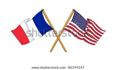 American and french alliance and friendship