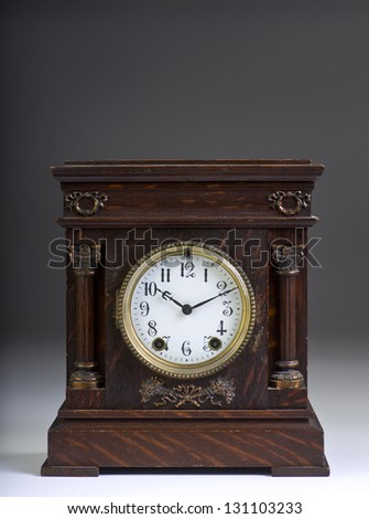 American Antique Clock Made in the 1890's.