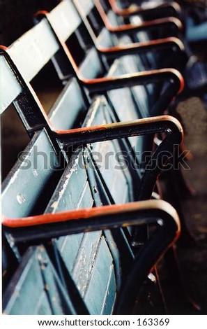 American baseball ballpark seats