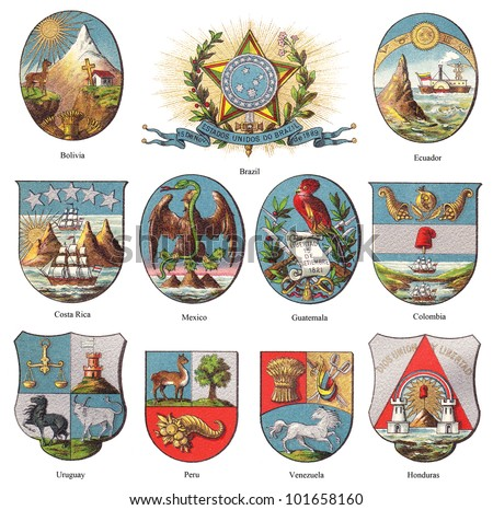 american coat of arms...