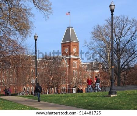 American college campus  #514481725