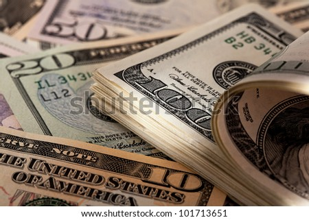 american dollar bills from the u.s.