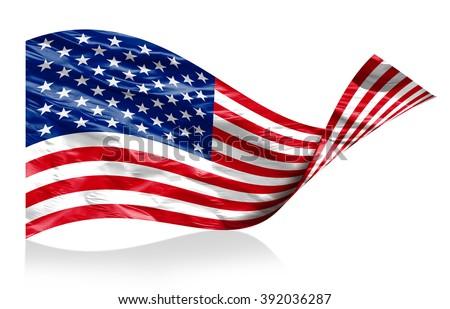 American flag #392036287