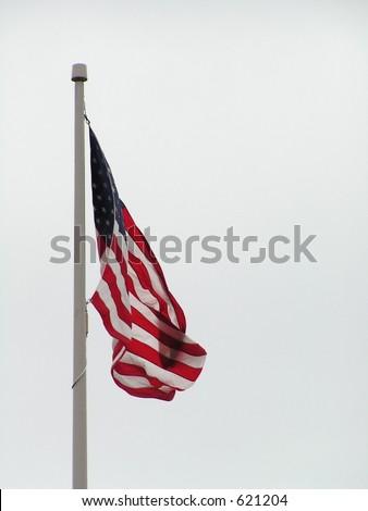 American Flag - stock photo