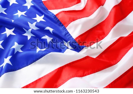 American flag as background. National symbol #1163230543