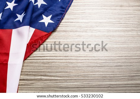 American flag background #533230102