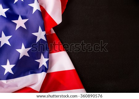American flag background for edit your design. #360890576