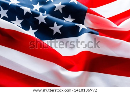 American flag for Memorial Day or 4th of July. #1418136992
