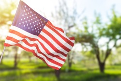 American flag for Memorial Day, 4th of July, Labour Day. Independence Day.