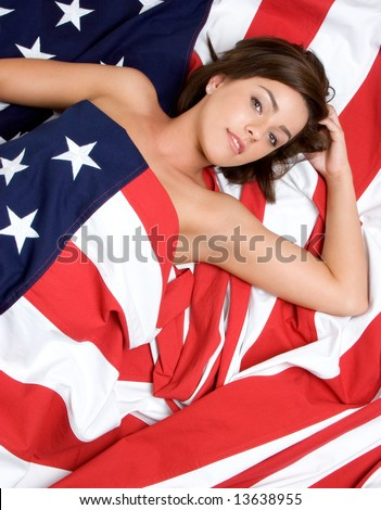 american flag pictures clip art. stock photo : American Flag