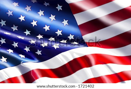 American Flag Graphic