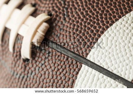 American football close-up #568659652