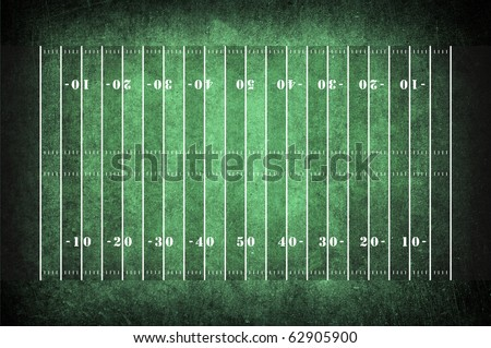 american football field pattern on the dark green grunge
