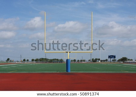 American Football Goal Posts or Uprights