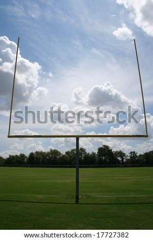 American football uprights