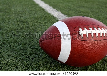 American Football with the Field