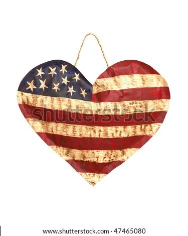 American Heart Flag