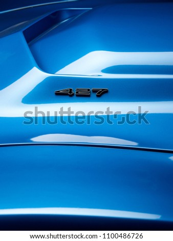 american muscle car from the...