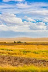 American Pastoral Landscape, Wind Turbine