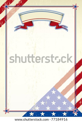patriotic wallpaper. A patriotic background for a