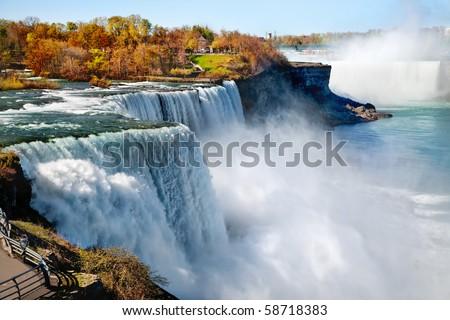 American side of Niagara Falls