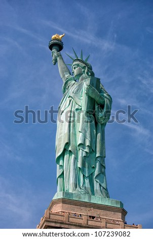 American Statue of Liberty-Liberty Island-Manhattan