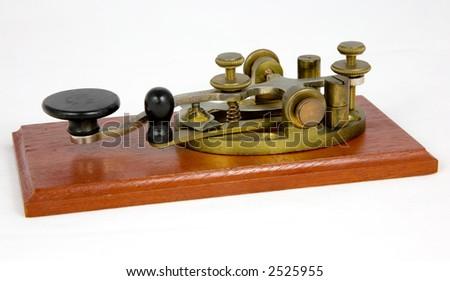 American Style Vintage Morse Key (c 1930)