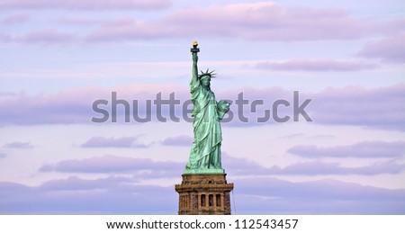 American symbol - Statue of Liberty. New York, USA.