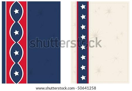 Americana Postcards - RASTER version