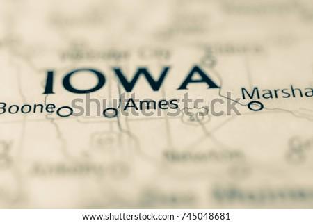 Ames, Iowa, USA.