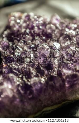 amethyst crystals background  #1127106218